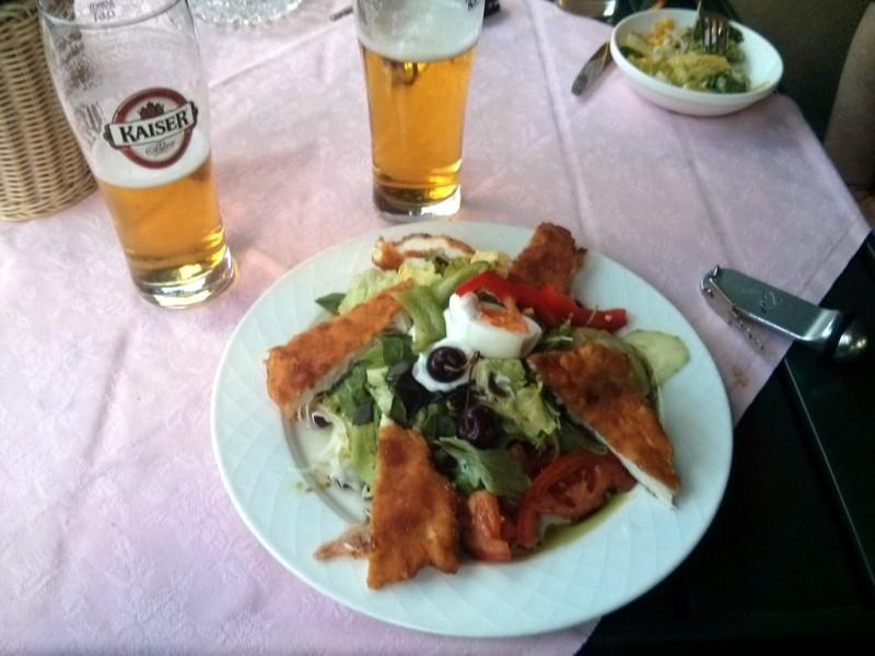 Salat im Gasthof Pöchhacker