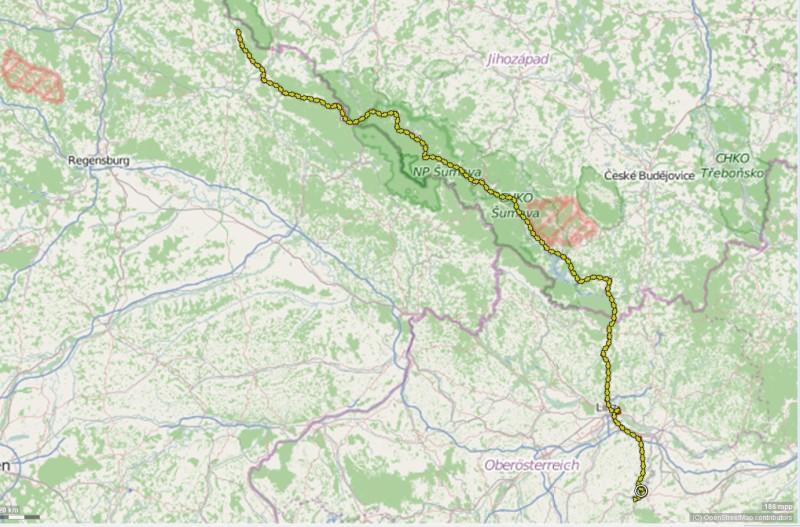 Strecke 2015-06-29